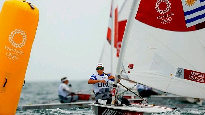 Contra hombres, mujeres y 74 barcos Lola Moreira es campeona sudamericana