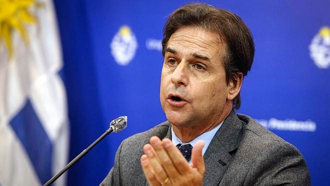 """Lacalle espera que avance en TLC con China """"no genere rispideces"""" con el Mercosur"""