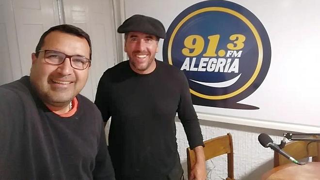 La visita a la Radio de Mario Rossi el hombre fe las Cabalgatas Guiadas!