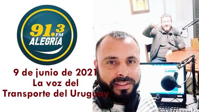 """Programa """"Quien diría"""" con """"La voz del Transporte del Uruguay"""" del 2 de junio de 2021 con la presencia de JulioZednizek"""