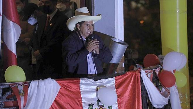 El Frente Amplio reconoce a Pedro Castillo como ganador de las elecciones en Perú