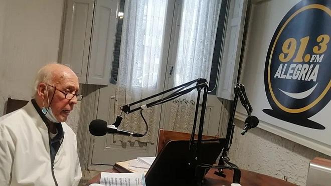 """La visita a la Radio del Dr Juan Eduardo Piegas. """"Descentralizar en serio y con controles"""""""