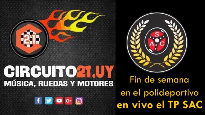 Fin de semana en el polideportivo en vivo el TP SAC – Por Alegria FM y circuito21.uy