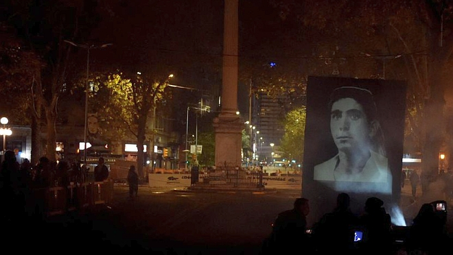 """""""Mayo ha vuelto a ser el mes de la memoria""""; se realizó una nueva Marcha del Silencio"""