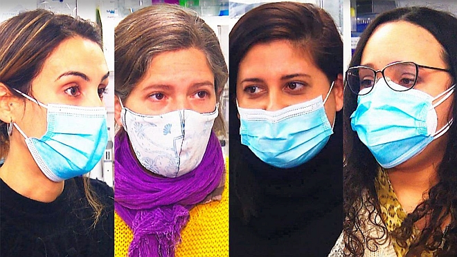Cuatro jóvenes científicas detectaron la variante Delta en Uruguay